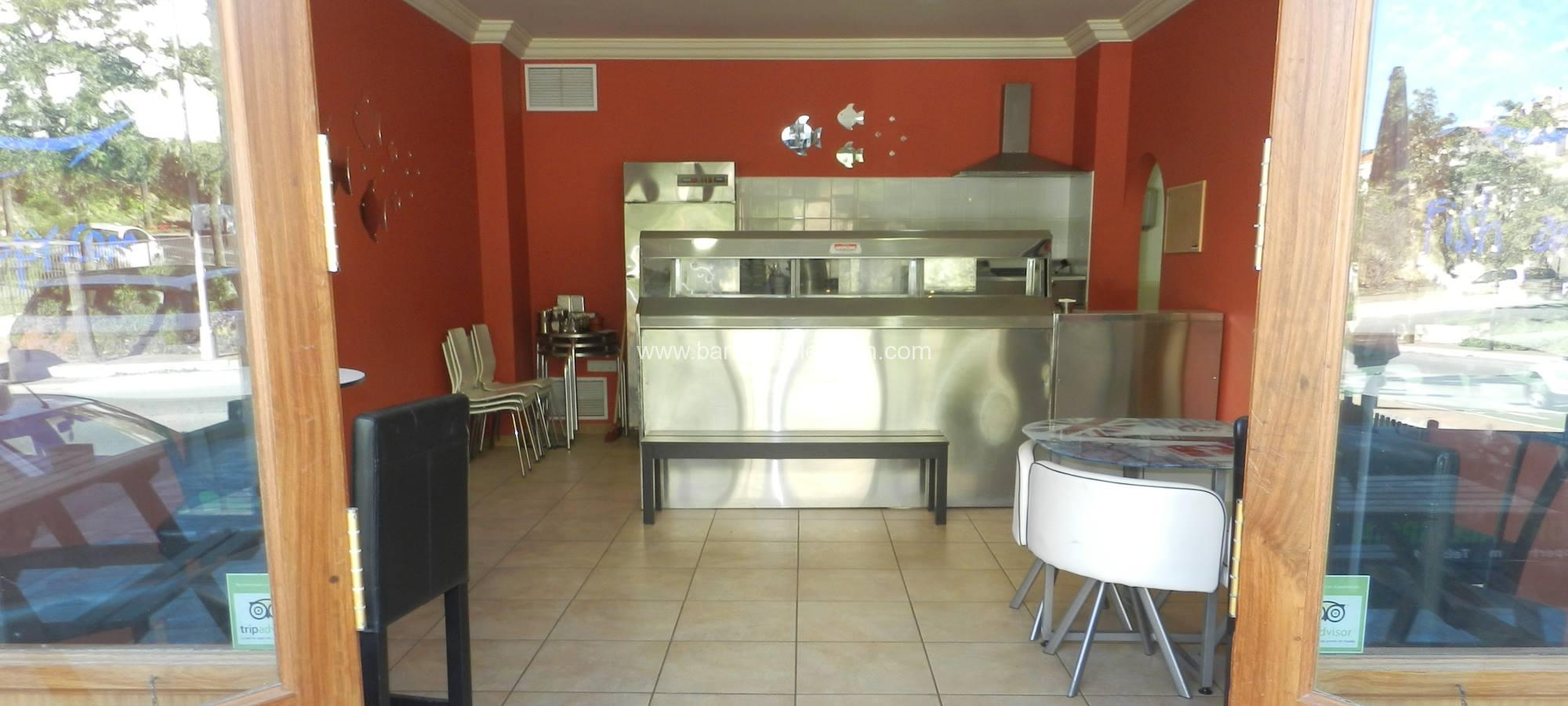 Cafe Bar Takeaway For Sale in Benalmadena, Malaga, Spain