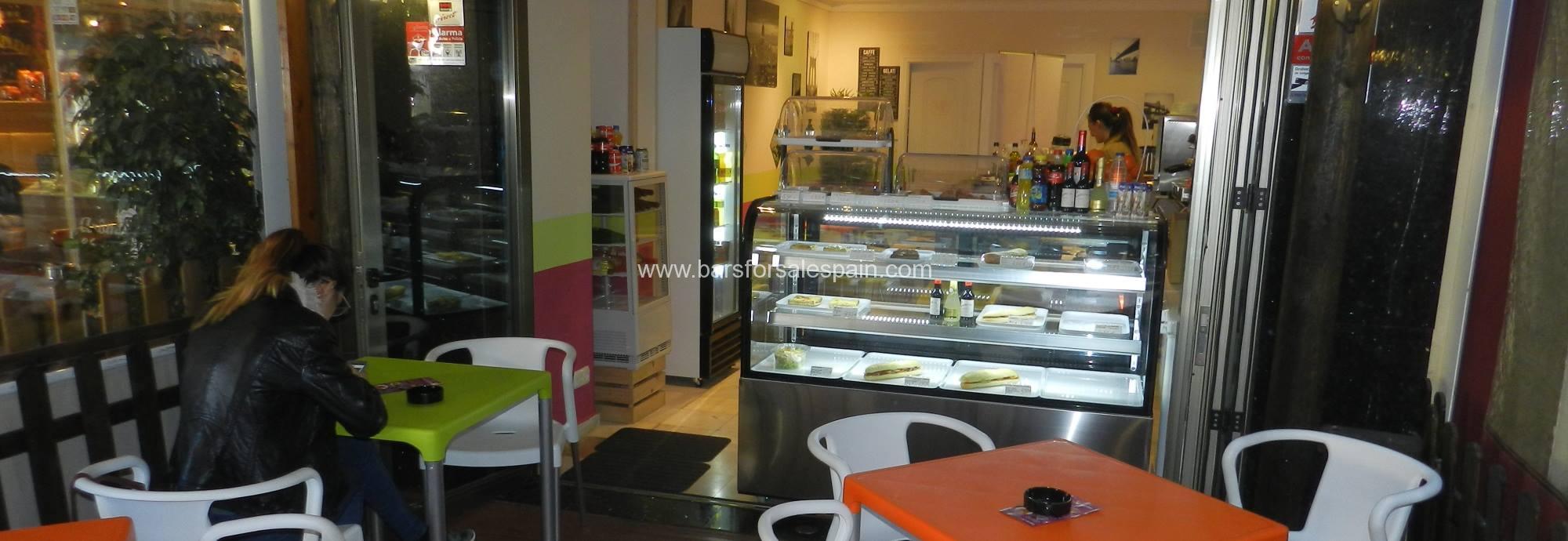 Snacks Bar For Sale in Fuengirola, Malaga, Spain