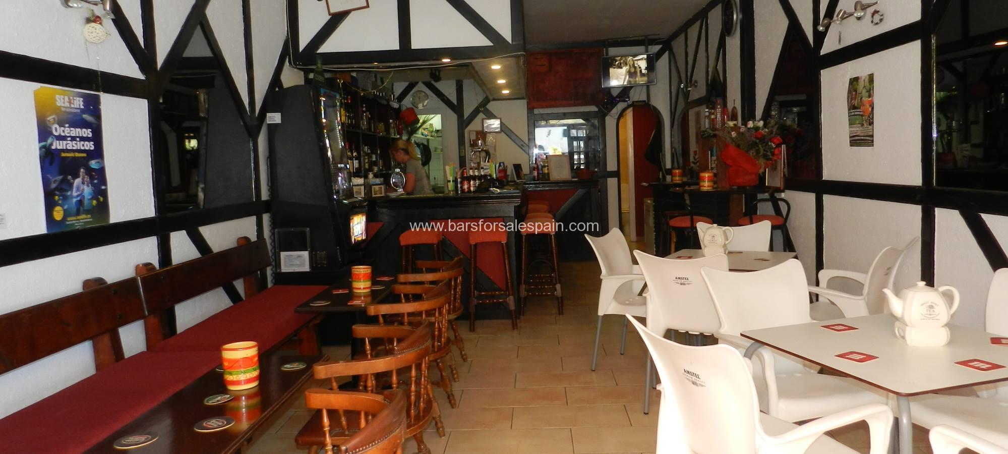 Cafe Bar For Lease in Benalmadena, Malaga, Spain