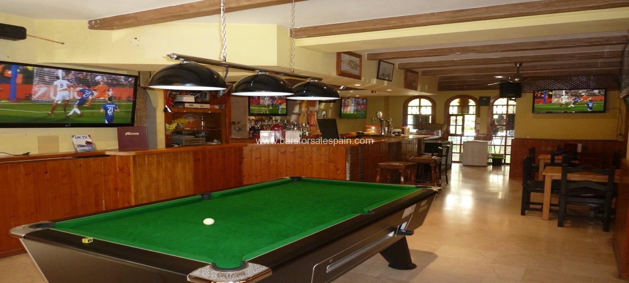 Sports Bar for Lease in Fuengirola, Costa del Sol, Spain