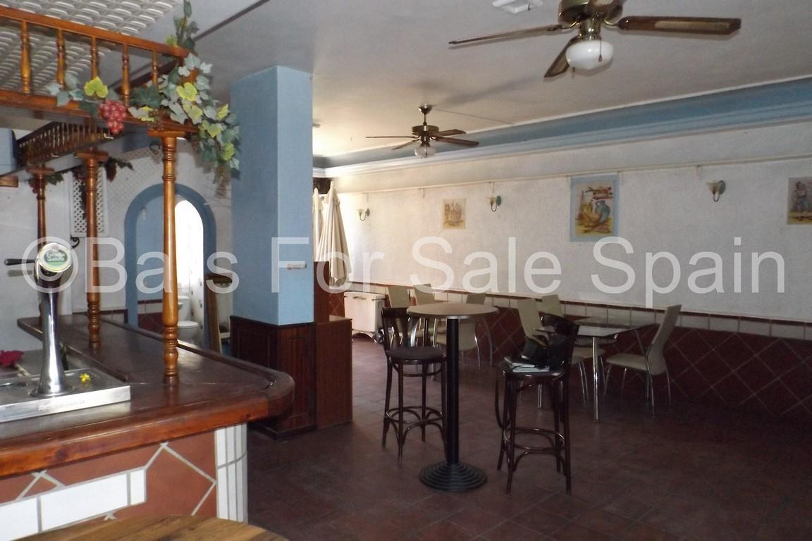 Cafe Bar For Sale in Benalnadena, Malaga, Spain