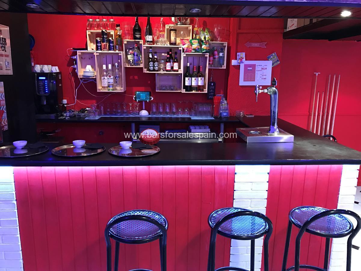 Cafe Bar for Sale in Benalmadena, Malaga, Spain