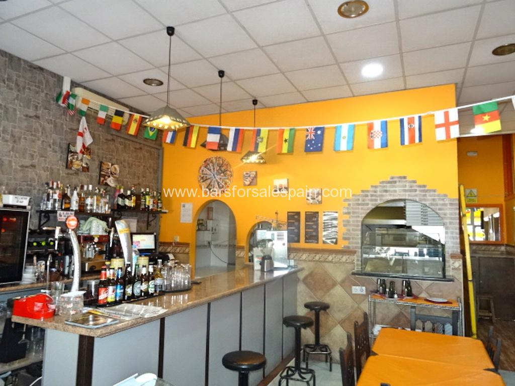 Fantastic Cafe Bar For Sale In Benalmadena, Malaga, Spain