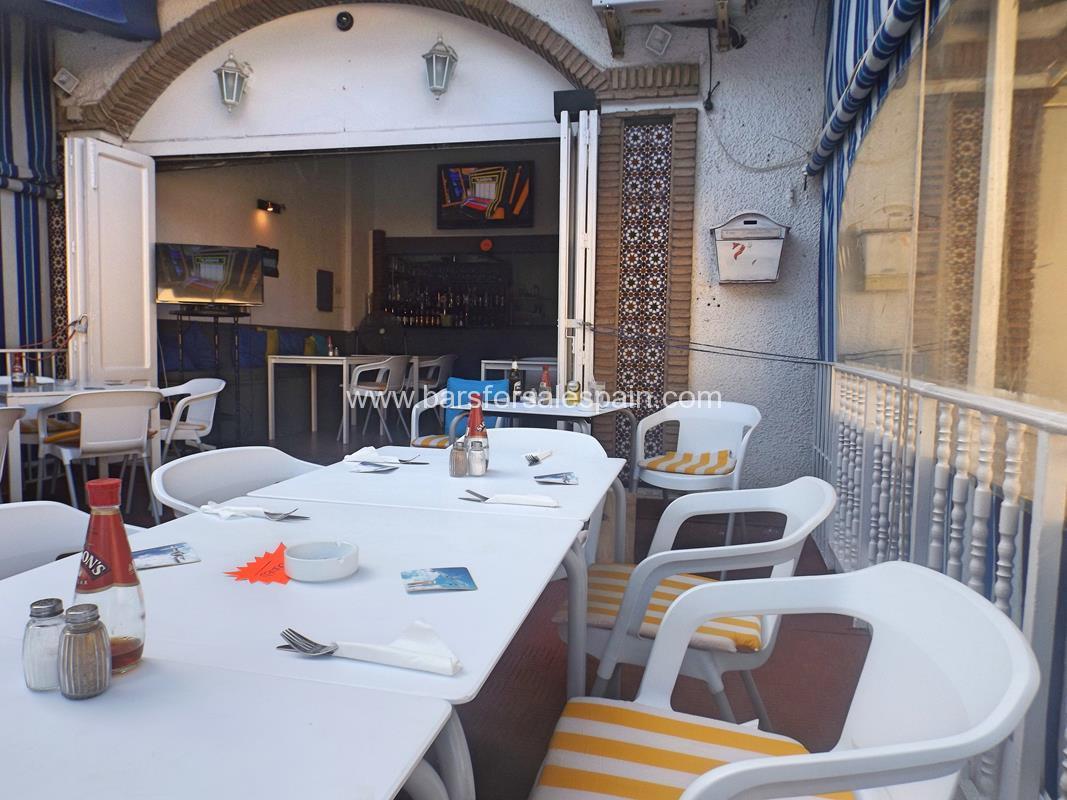 Cafe Bar For Lease In Benalmadena, Malaga , Spain