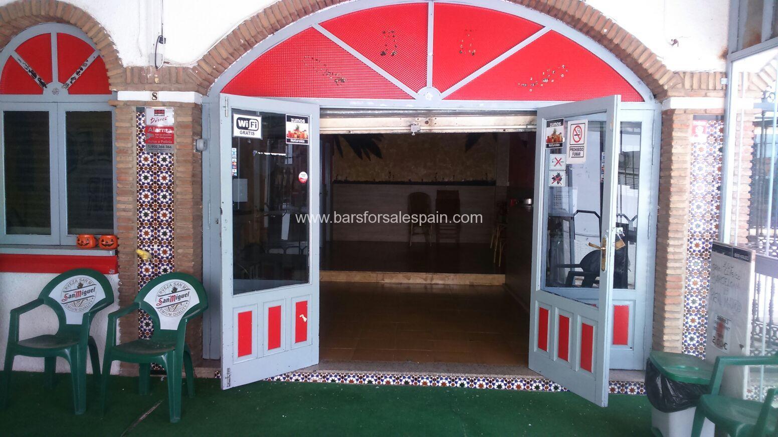 Drinks Bar For Sale in Benalmadena, Malaga, Spain
