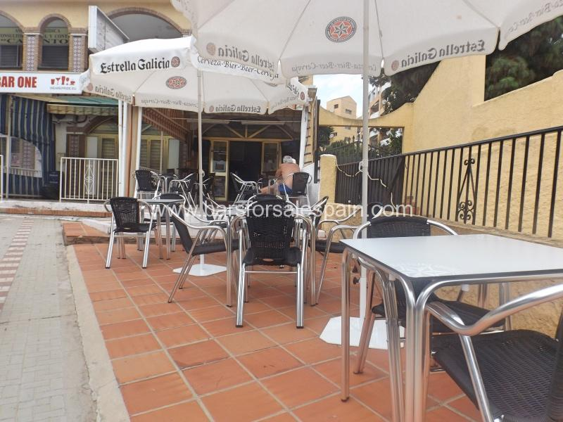 Cafe Bar in Benalmadena, Malaga For Sale
