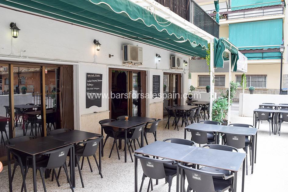 Traditional style Cafe Bar In Los Boliches, Fuengirola