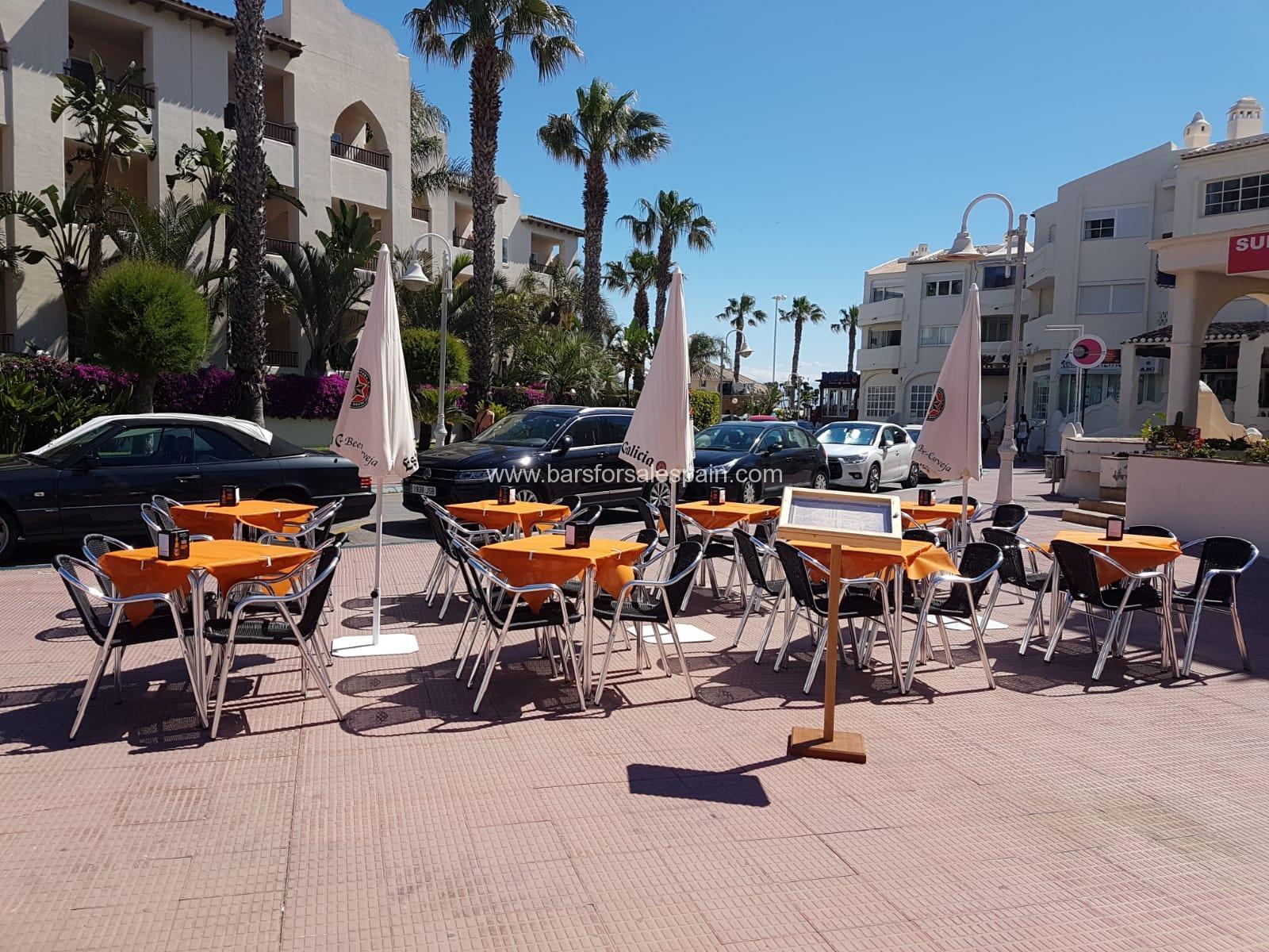 Fantastic Cafe Bar in Benalmadena Costa, Malaga, Spain