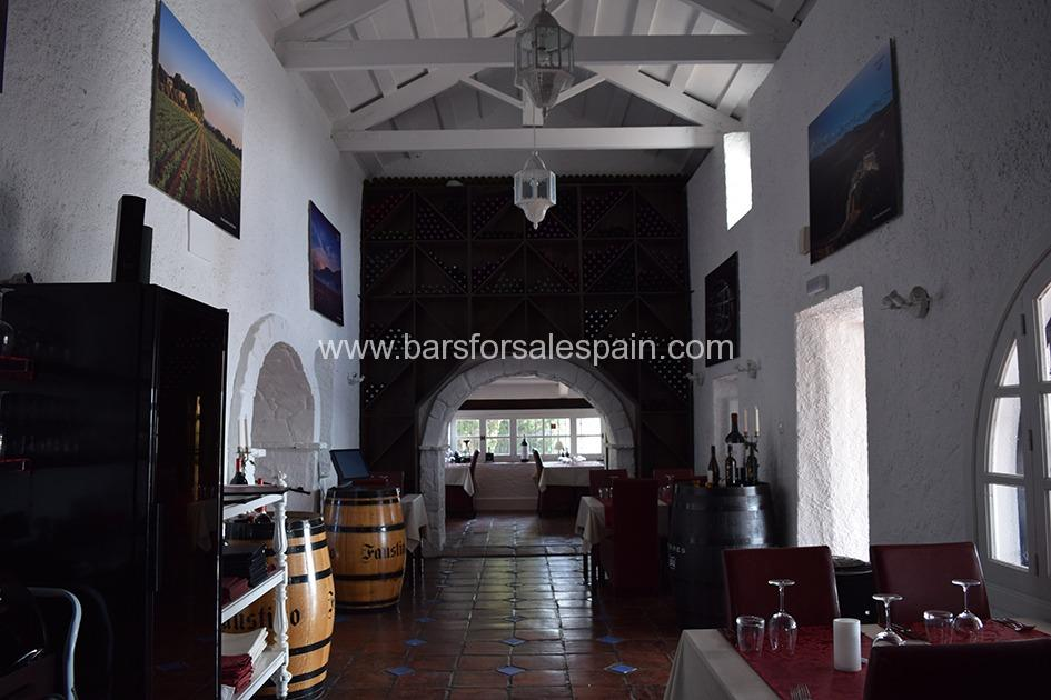 Fabulous High End Traditional Restaurant In It's Own Grounds In Mijas, Costa del Sol, Spain