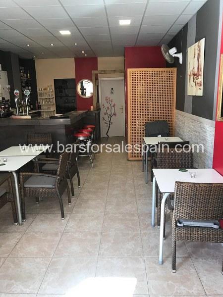 Nice and cozy cafe bar in Fuengirola , Costa del Sol, Spain