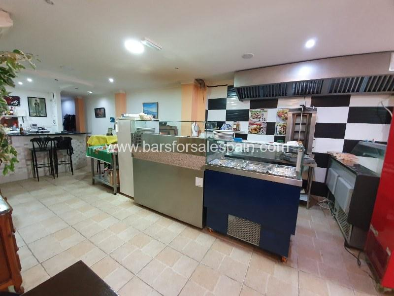 Cosy Restaurant Bar / Take Away for sale in Los Boliches , Fuengirola, Costa del Sol, Spain
